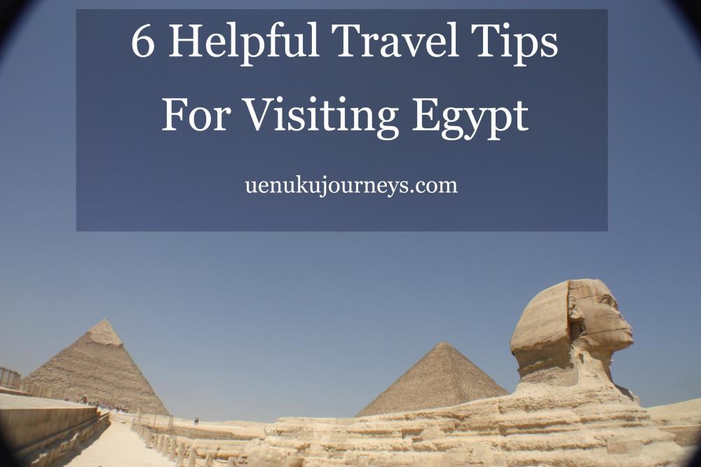 Travel Tips Egypt