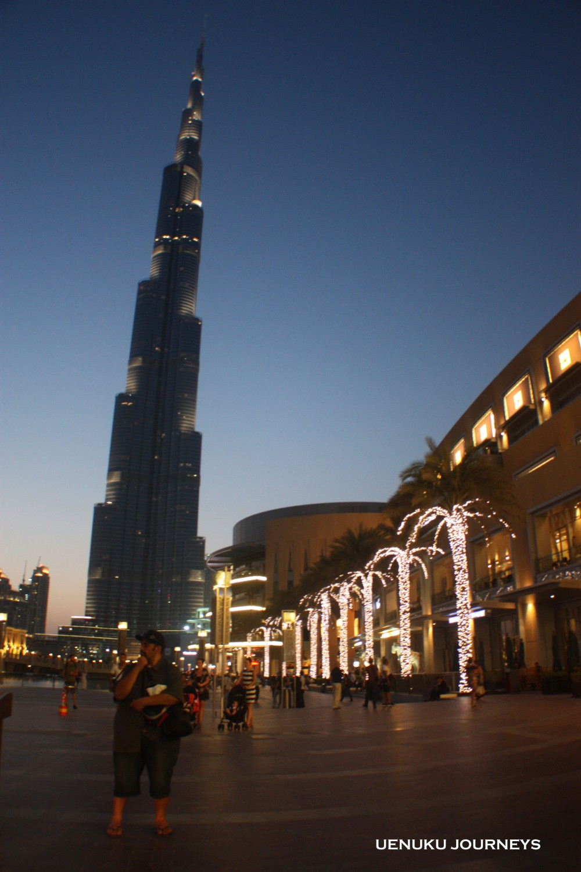 Uenuku Journeys Burj Khalifa