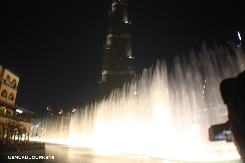 Uenuku Journeys Fountain